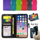 iPhone 5 / 5S 5C Case, Leather Wallet Cover For Apple