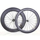 60/88mm Sapim CX-RAY Carbon Wheels Clincher Road Bike 700C Basalt Rim 23 wide 3k