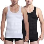Men Shaper Vest Shirt Body Slimming Tummy Belly Waist Girdle Shapewear Underwear