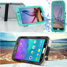 WATERPROOF SHOCKPROOF DIRT PROOF CASE COVER For Samsung Galaxy S6
