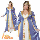 Adult Elegant Empress Plus Size Costume Medieval Renaissance Maiden Fancy Dress