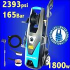 Silverline 2390psi Pressure Washer 6m Hose Jet Power Wash car patio slabs lanc