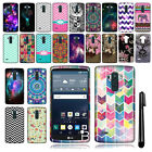 For LG G Stylo LS770 G4 Note TPU SILICONE Rubber Soft Case Phone Cover + Pen