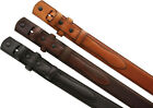 "5547500 Genuine Leather Ranger Belt Strap 1-1/8"" taper to 3/4"" wide"