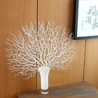 1 PCS Artificial Fan Shaped Plastic Dried Branch Plant Home Wedding Decor F330