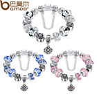Variety Fine DIY European Silver Bracelets With Beads Charms For Ladies Jewelry