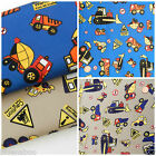 "per FQ/ 1/2 metre Dig em up Dave tractors  fabric 44""(112cm) wide 100% cotton"