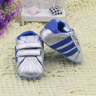 The fashion girl boy silver crib shoes Sports shoes size 0-6 6-12 12-18 Month