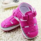 The fashion girl rose red crib shoes sandals shoes size 0-6 6-12 12-18 month