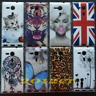 Marilyn Monroe UK US Hard Back Case Cover For Sony Xperia SP M35h C5302 C5303