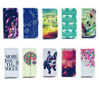 New Present Leather Flip Case Cover with Card Slot For Samsung Galaxy Phone CAH2