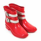 Melissa X Vivienne Westwood Women's Pirate Plastic Pull On Boot Red