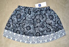 New $27 Authentic Baby GAP Girl Black White Skirt (12-18M, 18-24M, 2T, 3T, 4T)