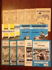 Warrington Rugby League Programmes 1960 - 2012
