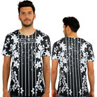 Lillys 3D Print Fitted T-Shirt Urban life Monkey Business Hip Hop Top