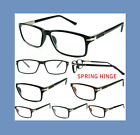 New Mens Womens Spring Hinge Reading Glasses Quality Designer  +1.02357 R162