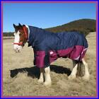 LOVE MY HORSE 1200D 7'0 - 7'3 Ripstop Clydy Heavy Horse Winter Combo Rug Navy