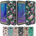 iP Flower Pattern Bumper Case For Samsung Galaxy LG Apple iPhone Various Phone