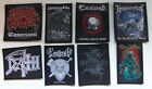 Various Licenced Heavy Metal Woven Patches