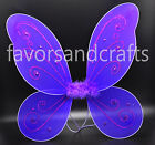 Adult Pixie Wings Fairy Pink Blue Large Butterfly Tu Tu Dress Up Girls Costume