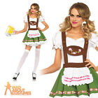 Oktoberfest Sweetie Costume Ladies Sexy Bavarian German Beer Girl Fancy Dress