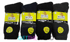 Mens 12 Pairs Size 6-11 Work Socks Thick Work Building Work Site Thermal Socks