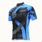 XINZECHEN Blue Bike Short Sleeve Top Shirt Bicycle Cycling Jersey S-3XL CD1017