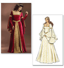 Butterick Misses Costume Sewing Pattern 4571 Medieval Gowns