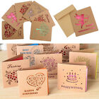 Vintage Kraft greeting cards all purpose for you Greeting Birthday Celebrating