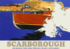 Scarborough  LNER Railway Travel Poster reproduction