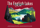 The English Lakes  Railway Travel Poster reproduction