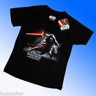 Official Genuine Star Wars 7:The Force Awakens VII Kylo Ren Tee T Shirt 3-11 Yrs