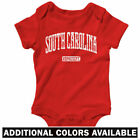 South Carolina Represent One Piece - Gamecocks SC Baby Infant Romper - NB to 24M