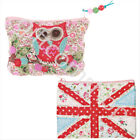 New Union Jack And Owl Decoration Children's Pretty Coin Purse