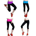 STO Hot Women Gym Excises Workout Running Yoga Sport Long Cropped  Pant Trousers
