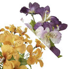 240 Silk Alstroemeria Flowers for Wedding Bouquets Centerpieces Arrangements