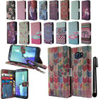 For Samsung Galaxy S6 Edge+ Plus G928 Flip Wallet LEATHER POUCH Case Cover + Pen