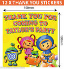 Personalised Team Umizoomi Birthday Party Supplies decorations