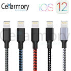 Braided USB Charger Cable Data Sync Cord For iPhone 7 Plus iPhone 6 iPhone X 8 5