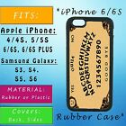 penny board phone case - Vintage Ouija Board Game Apple iPhone Samsung Galaxy Phone Case SE S7 Rubber