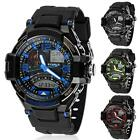 Multi Function Military Digital LED Quartz Sports Wrist Watch Waterproof New
