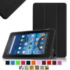 """Slim Shell Case Stand Cover For Amazon Fire 7 Tablet 7"""" Display 5th Gen 2015"""