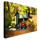 Red wine Selection vineyard Canvas wall Art prints high quality great value