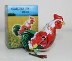 Wind-Up Tin Toy Pecking Rooster Brand New In Box - Chicken Bird Farm Animal