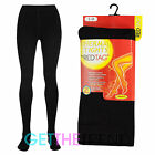 Womens Thick Thermal Tights Ladies Winter Warmer Fleece Lined Full Length Tights