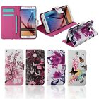Floral Flip Leather Case Wallet Cover For Samsung Galaxy Note5/S6 Edge Plus/G530