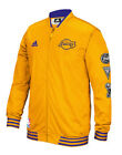 Los Angeles Lakers adidas Men's Official 2015/2016 On-Court Warm-Up Jacket -Gold on eBay