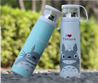 Cartoon Cat Stainless Steel Thermos Cup Tea Water Coffee Flask Vacuum Travel Mug