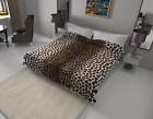 Solaron Blanket throw Thick Ultra Fine Polyester Mink Plush Leopard HeavyWeight image