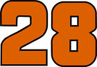 #28 Davey Allison Racing Sticker Decal - Small to Large Plus